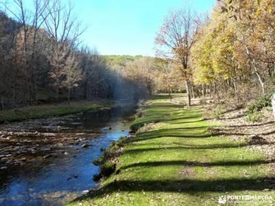 Sierra del Rincón-Río Jarama; monte de el pardo naturaleza cerca de madrid imagenes del monasterio